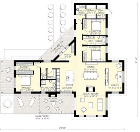 Planos de casas de una planta 3 dormitorios | Casas ...