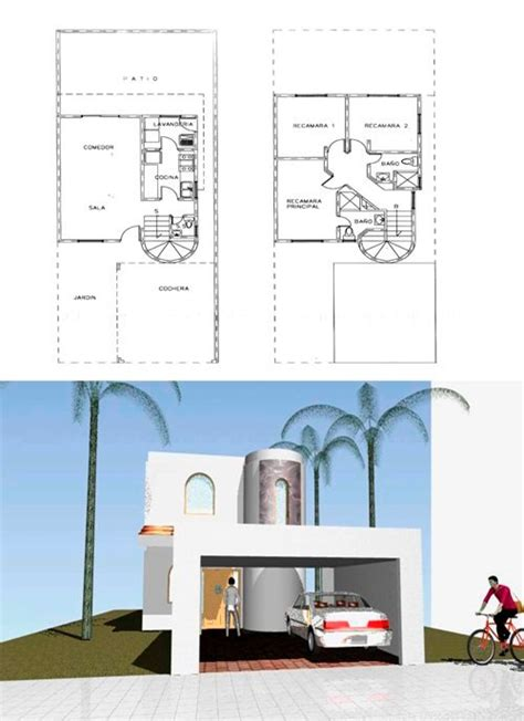Planos De Casas Infonavit Listos Para Construir   $ 1,250 ...
