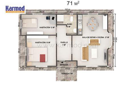 Planos de Casas Prefabricadas   Viviendas Modulares