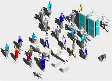 Planos de Figuras humanas 3d, en 3d - Personas en PlanosPara