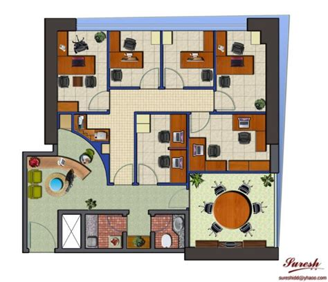 Planos de oficinas administrativas pequeñas | Architecture ...