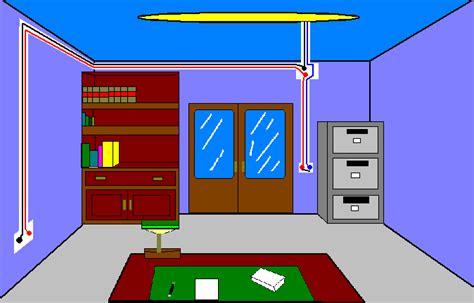 Planos modernos eléctricos de casas