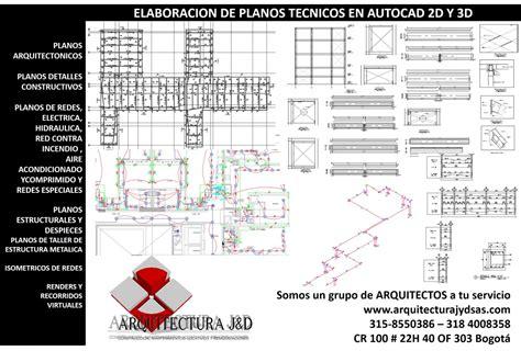 PLANOS TECNICOS AUTOCAD | Construyored