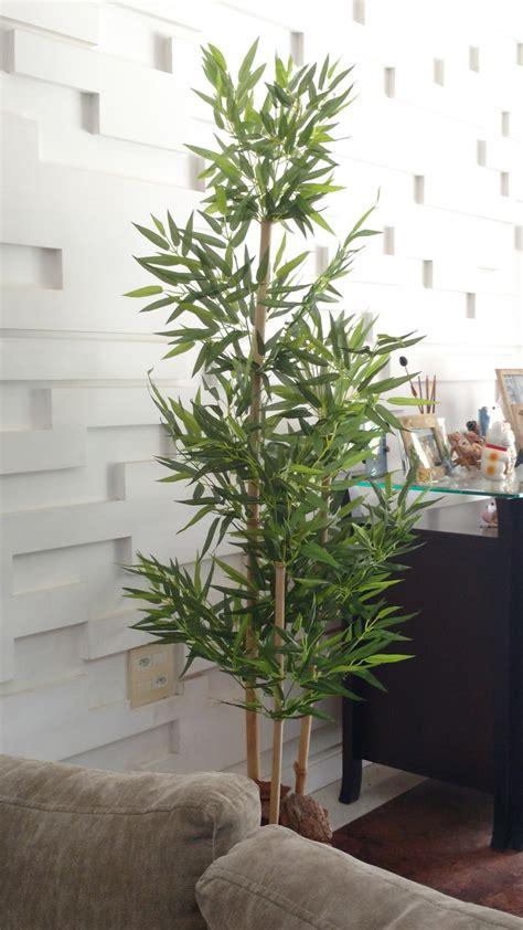 Planta Artificial Árvore Bambu 3 Hastes 1,70 metros no ...