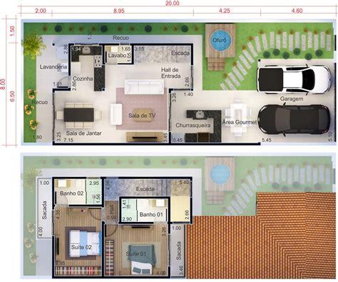 Planta de casa barata - Projetos de Casas, Modelos de ...