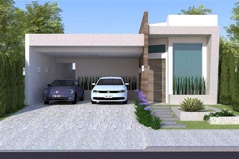 Planta de casa com área de lazer - Projetos de Casas ...