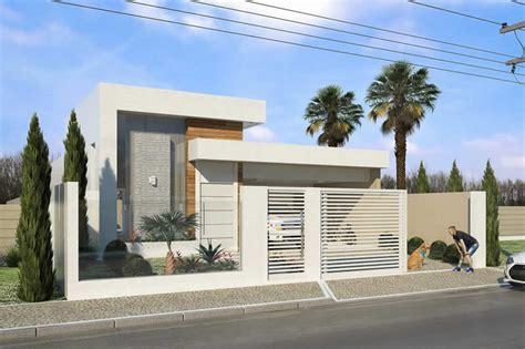 Planta de casa com muro de vidro - Projetos de Casas ...