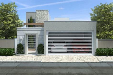 Planta de casa pequena com 3 quartos - Projetos de Casas ...