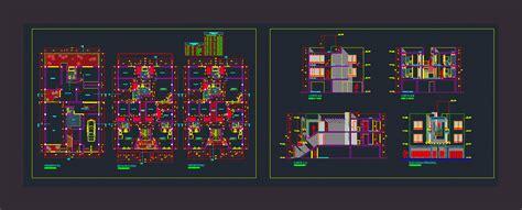 Planta edificio 3 pisos  dwgDibujo de Autocad  | PLANOS ...