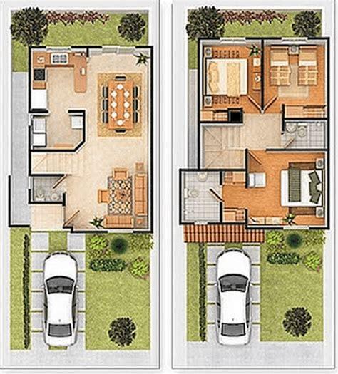Plantas de casas com 2 pisos: 25 modelos ispiradores