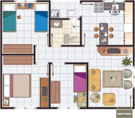 Plantas de Casas simples e baratas: Modelos grátis