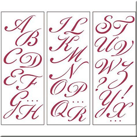 Plantilla   Abecedario Letra Inglesa  15 x 38