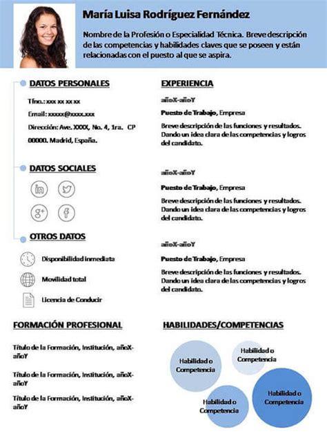 plantilla curriculum - Vitae