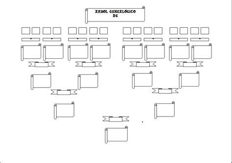 Plantilla de arbol genealogico para completar - Imagui