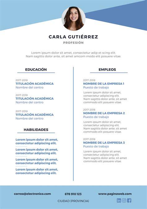 plantilla de curriculum - Ideal.vistalist.co