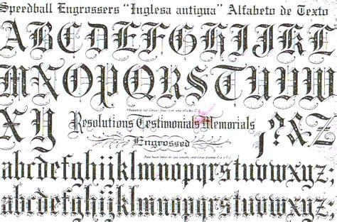 Plantilla de letras goticas para imprimir   Imagui