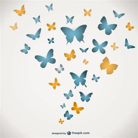 Plantilla de mariposas | Descargar Vectores gratis