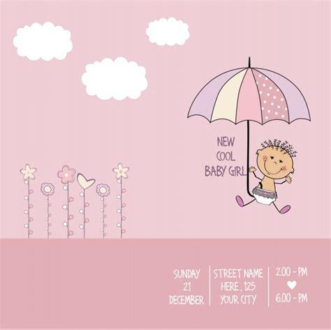 Plantilla de tarjeta de baby shower | Descargar Vectores ...