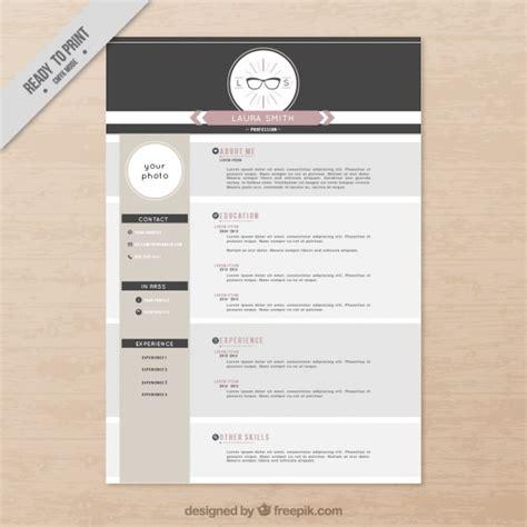 Plantilla del curriculum vitae sofisticada | Descargar ...