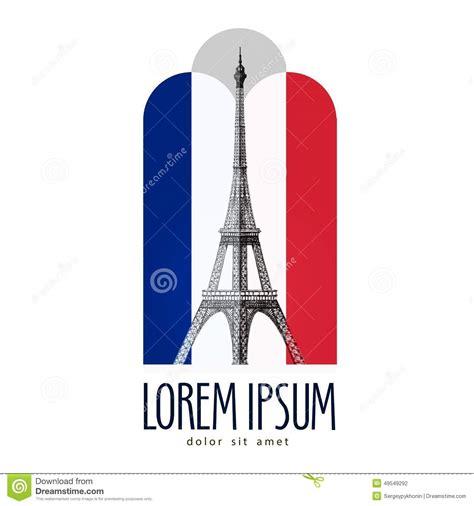 Plantilla Del Diseño Del Logotipo De París Francia O Torre ...