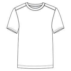 Plantilla para decorar tu camiseta | Dibujos para colorear ...