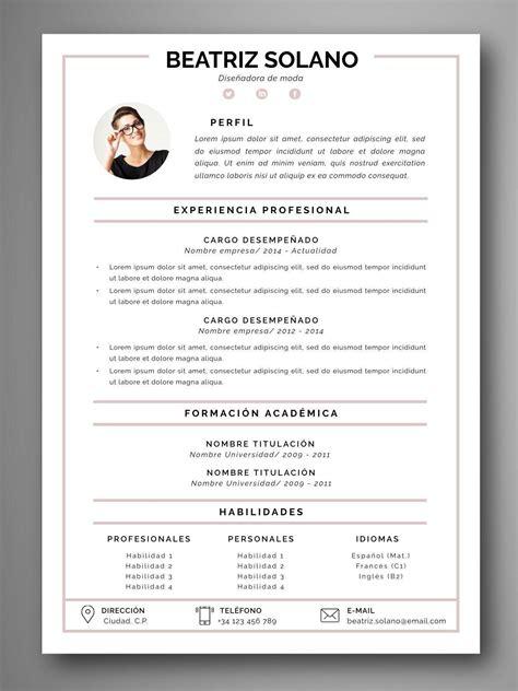 Plantilla Para Resume En Espanol | Best Resume Examples