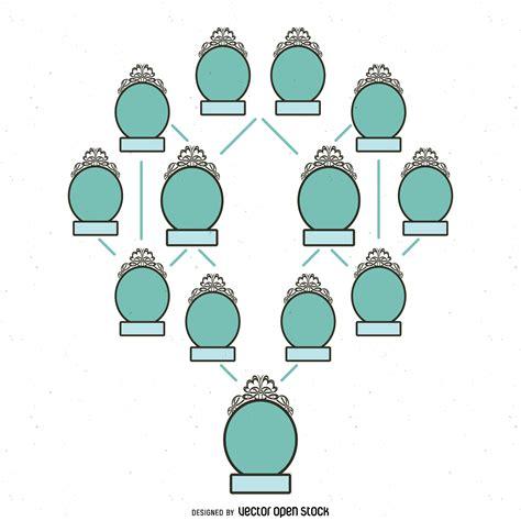 plantillas arbol genealogico para nios plantilla maqueta ...