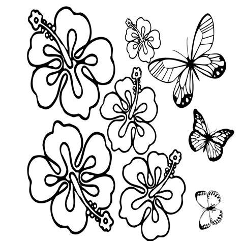 Plantillas De Flores Y Mariposas Para Pintar Vestidos ...
