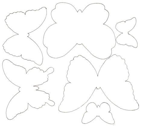 Plantillas de mariposas. | Ideas y material gratis para ...