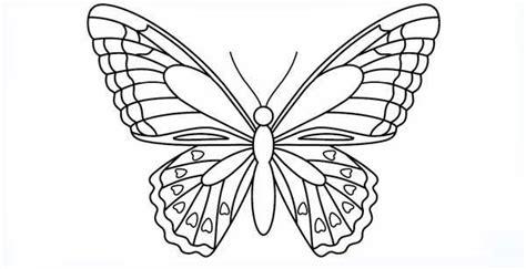 Plantillas de mariposas para imprimir y colorear