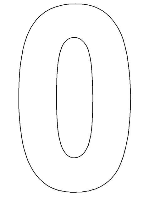 Plantillas de números para imprimir y recortar Gratis!