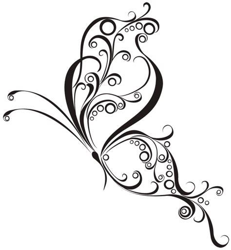Plantillas de Tatuajes de Mariposas - Plantillas de tatuajes