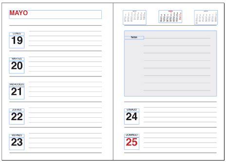 Plantillas Gratuitas de Agendas y Calendarios para ...