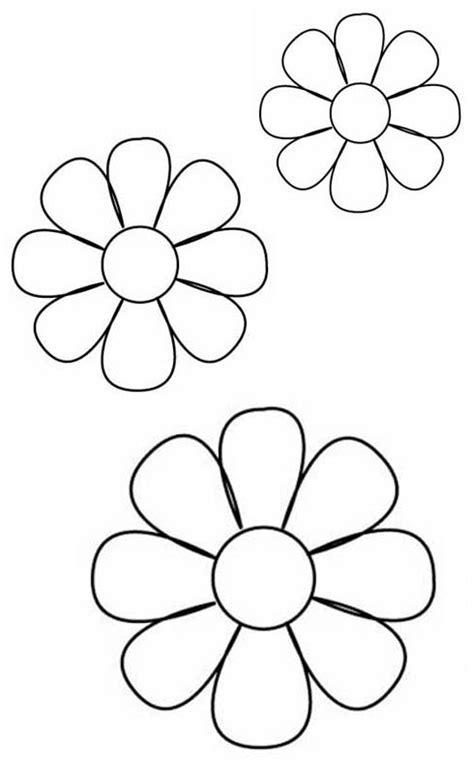 Plantillas para flores de goma eva   Imagui