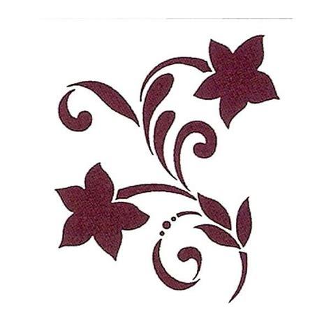 Plantillas para stencil flores - Imagui