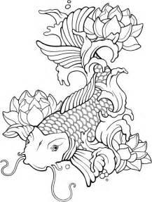Plantillas para tatuajes del pez koi - Batanga