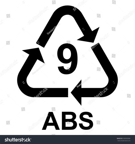 Plastic Recycling Symbol Abs 9 , Plastic Recycling Code ...