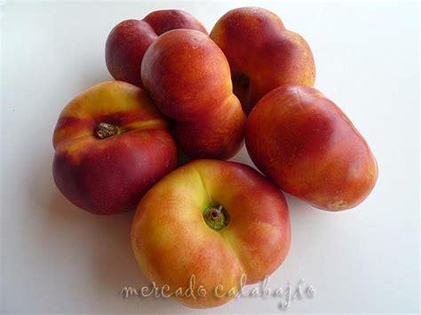 Platerina, fruta mitad paraguaya mitad nectarina - Mercado ...