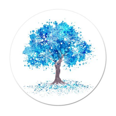Plato, Árbol de la Vida, Azul   JXB