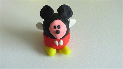 Play Doh Mickey Mouse Surprised   YouTube
