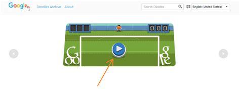Play Soccer Game on Soccer 2012 Google Doodle   AbezWorld ...