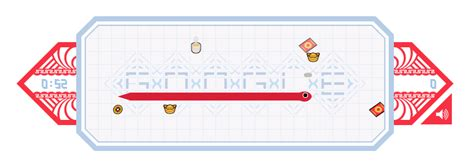Play the Google Doodle Snake Game for the Chinese New Year