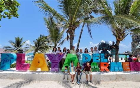 Playa del Carmen estrena letrero en parador turístico ...