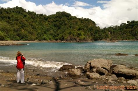 Playa Puerto Escondido en el Parque Nacional Manuel ...