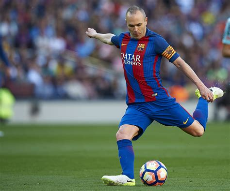 Player Grades for 2016-17: Andrés Iniesta