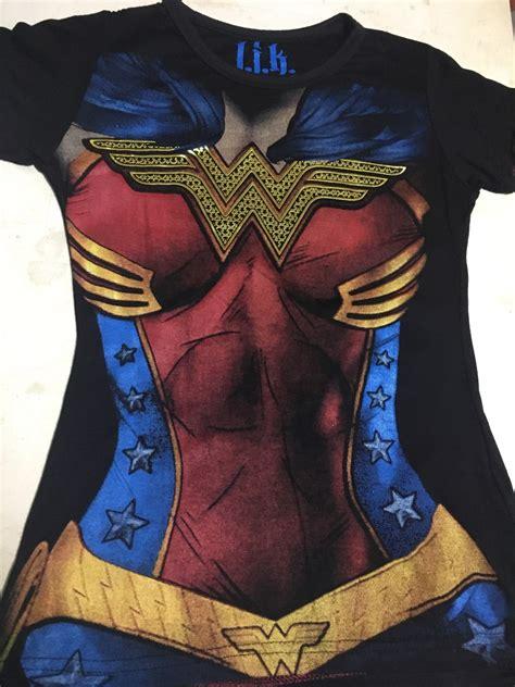 Playera Dama Mujer Maravilla, Superheroes Marvel Y Dc ...