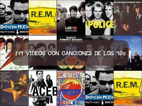 Playlist con 149 videos con música de los 90s | Recursos ...