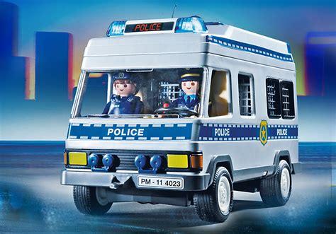 Playmobil 4023   Furgón de Policia   Juguetes Madrid