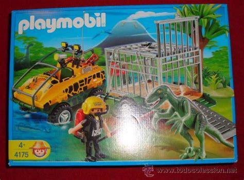 playmobil 4175 cazador de dinosaurios con veloc - Comprar ...