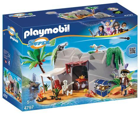 Playmobil 4798 Super 4 Sharkbeard: Amazon.co.uk: Toys & Games